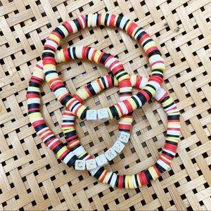 Kansas City Chiefs Bracelet Set
